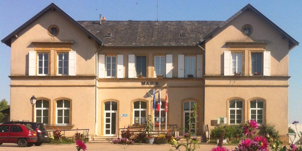 La mairie de Zoufftgen